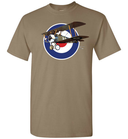 WWI - Sopwith F.1 Camel - Camiseta de algodón Unisex / Men / Children