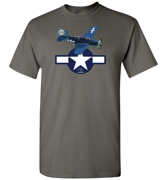 WWII - SB2C Helldiver - Unisex/Men/Children Cotton T-Shirt