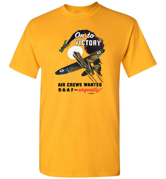 War Effort - On to Victory - T-shirt en coton