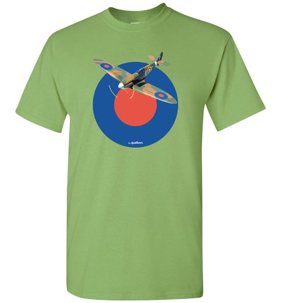 WWII - Supermarine Spitfire v.2 - Cotton T-Shirt