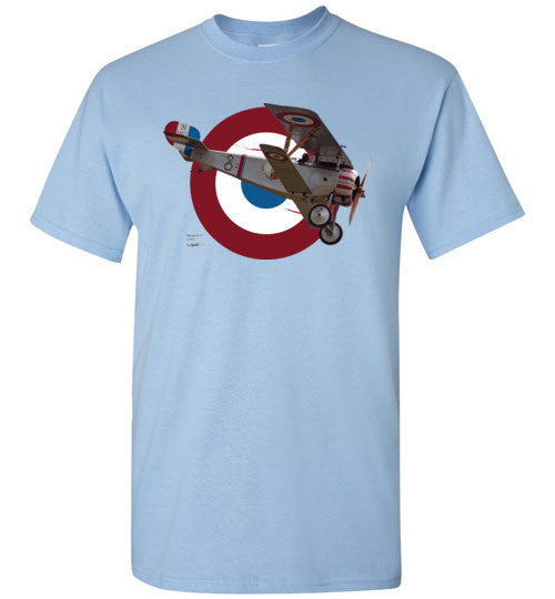 WWI - Nieuport 17 - Unisex/Men/Children Cotton T-Shirt