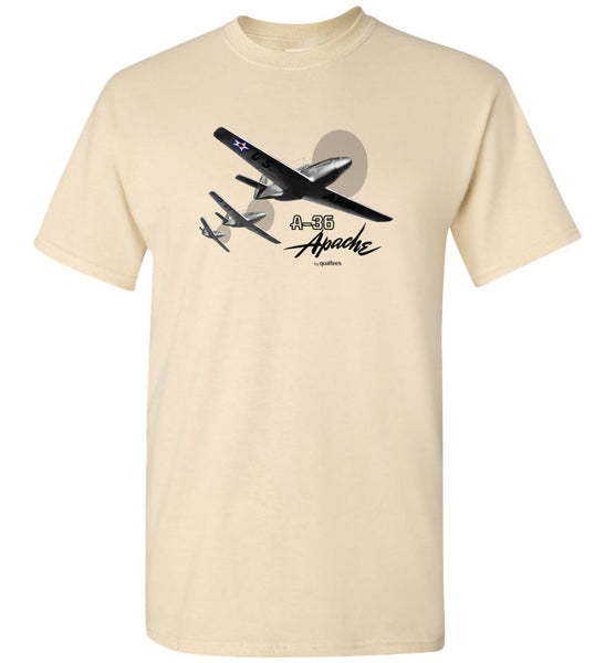 WWII - A-36 Apache - Unisex/Men/Children Cotton T-Shirt