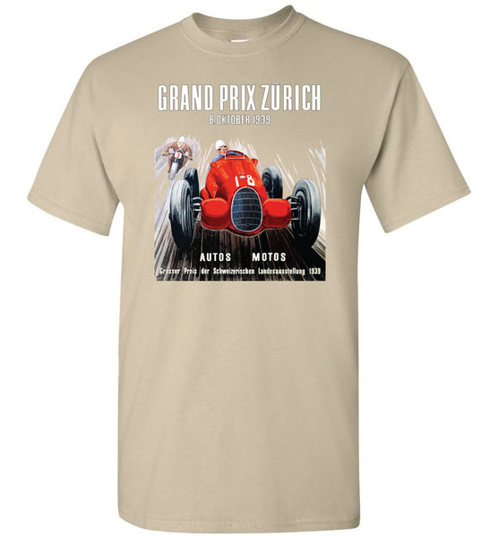 Grand Prix Zûrich 1939 - Unisex / Men / Kids Cotton T-Shirt
