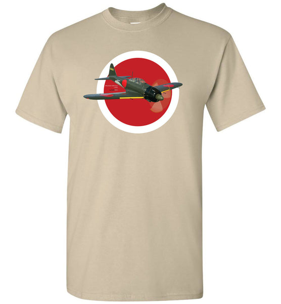 WWII - Mitsubishi A6M Zero - Unisex/Men/Children Cotton T-Shirt