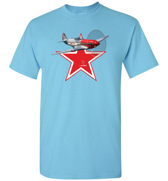WWII - Yakolev Yak-3 - Cotton T-Shirt