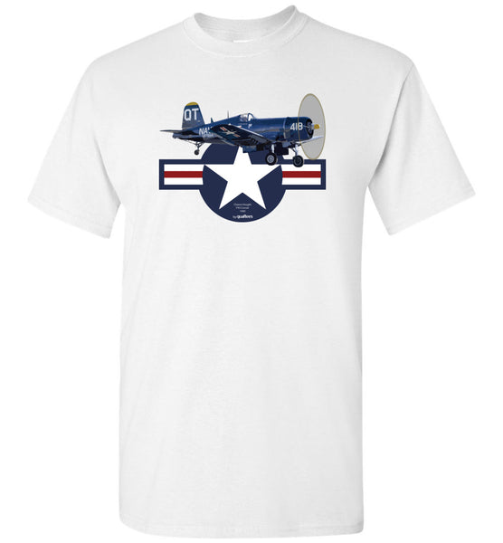 WWII - F4U Corsair v.3 - Unisex/Men/Children Cotton T-Shirt