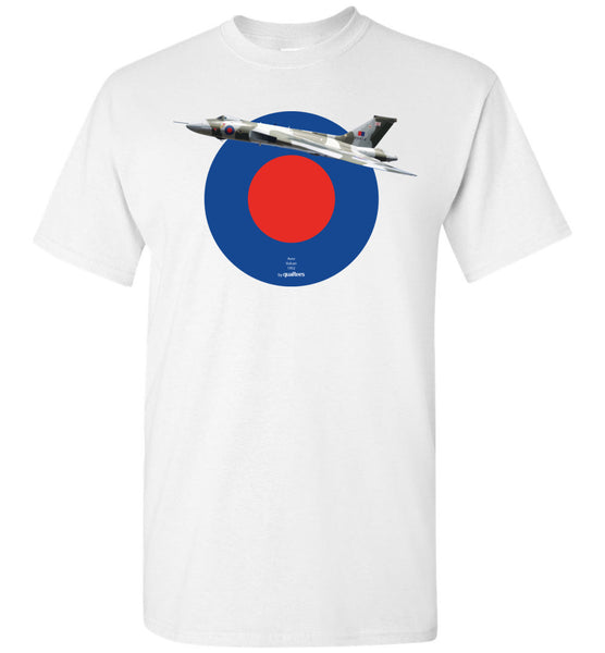 Legendary Jet sprengjuflugvélar - AVRO Vulcan - Cotton T-Shirt