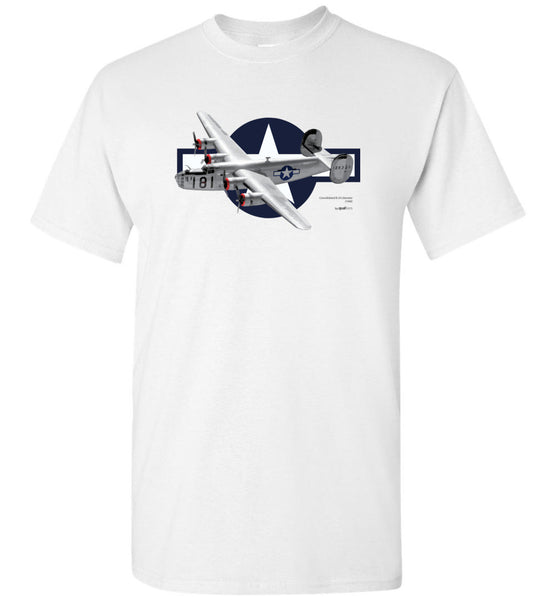 WWII - B-24 Liberator - Unisex/Men/Children Cotton T-Shirts