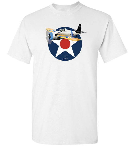 2. verdenskrig - Grumman F4F Wildcat - Cotton T-shirt