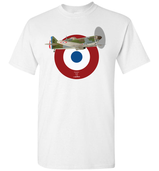 WWII - Dewoitine D.520 - Cotwm T-Shirt