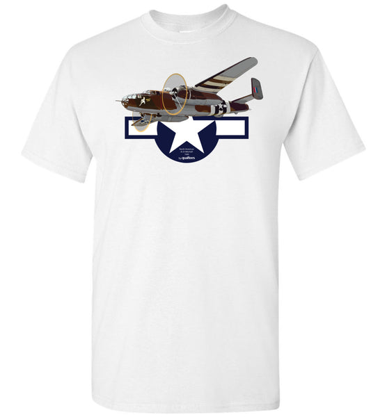 WWII - B-25 Mitchell v.2 - Cotton T-Shirt