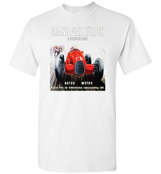 Grand Prix Zûrich 1939 - Unisex/Men/Children Cotton T-Shirt
