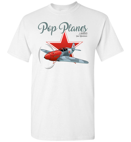 Pop Planes - Yak-3 - Unisex / Fir / Teine-T Cotton na Cloinne