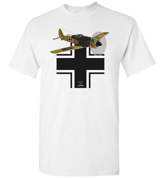 WWII - Focke-Wulf Fw 190 - Cotton T-Shirt