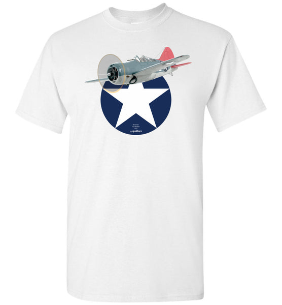 WWII - Brewster F2A Buffalo - T-Shirt cotton