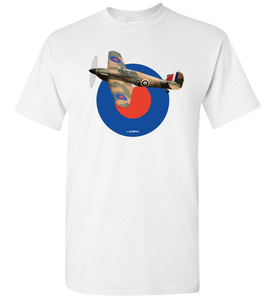 WWII - Hawker Hurricane v.2 - Cotton T-Shirt