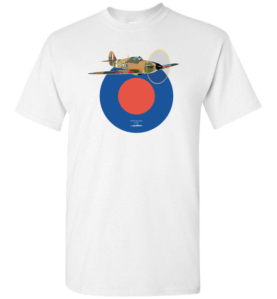 WWII - Hurricane Hawker - Cotton T-Shirt