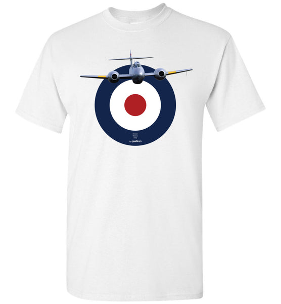 Legendary Jet Fighters - Gloster Meteor - T-Shirt di cotone