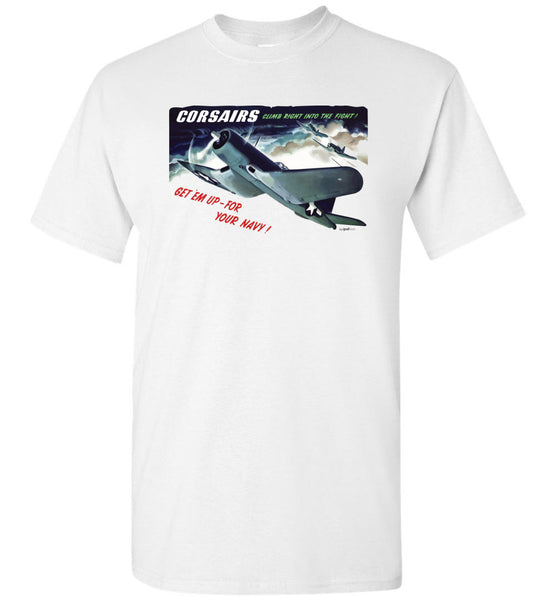 CORSAIRS into the Fight (a cura di) - T-shirt di cotone unisex / uomo / bambino