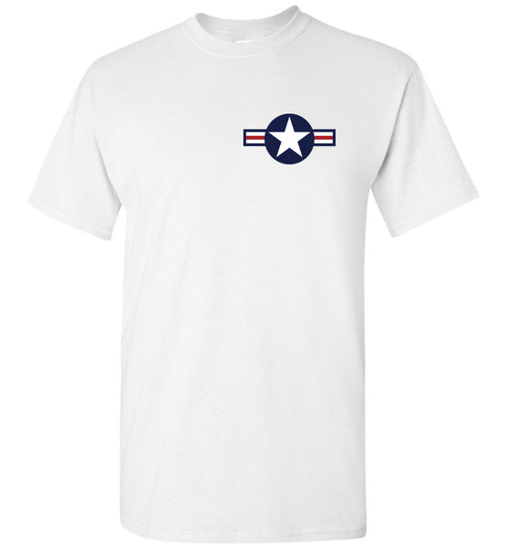 II wojna światowa - F4U Corsair v.3 (2-sided) - Cotton T-Shirt