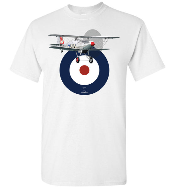 Inter-war - Hawker Fury - T-Shirt di cotone