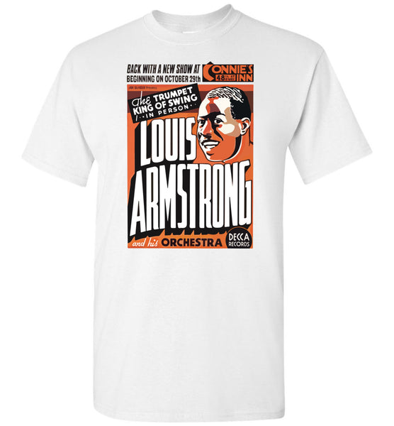 Louis Armstrong e sua orquestra - Cotton T-Shirt