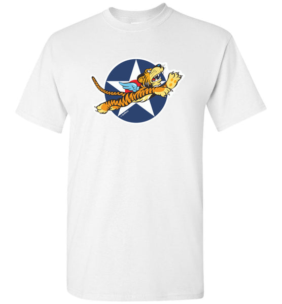 Flying Tigers - USAAF Emblem - Baumwoll-T-Shirt