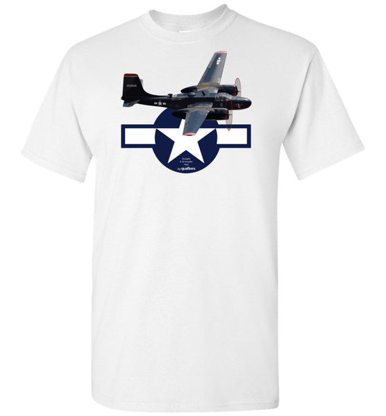 WWII - A-26 Invader - Cotton T-Shirt