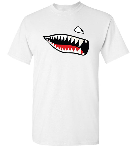 Flying Tigers - Shark Mouth - Bomuld T-Shirt