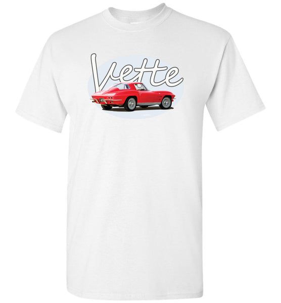 Legends - 63 Vette - Unisex/Men/Children Cotton T-Shirt