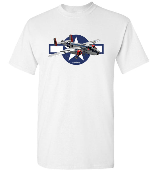 WWII - B-25 Mitchell - Cotton T-Shirt