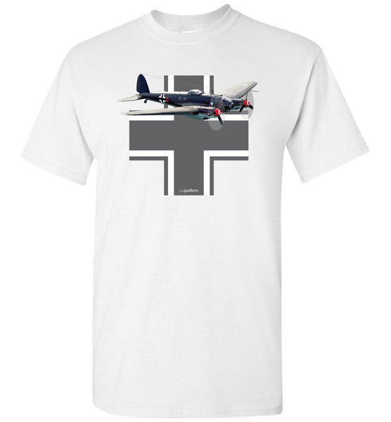 WWII - Heinkel He 111 - Unisex/Men/Children Cotton T-Shirt