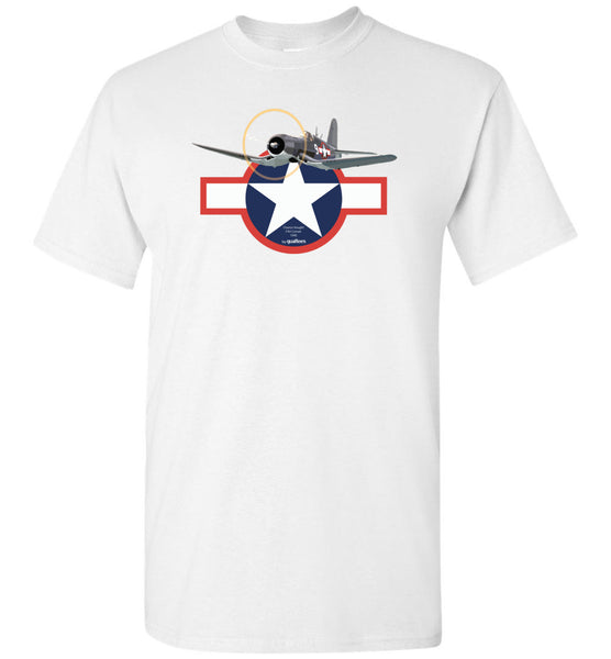 WWII - F4U Corsair v.2 - Cotton T-Shirt