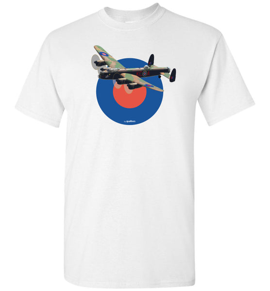 WWII - AVRO Lancaster - Unisex/Men/Children Cotton T-Shirt