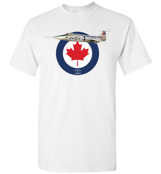 Legendary Jet Fighters - CF-104 Starfighter - Cotton T-Shirt