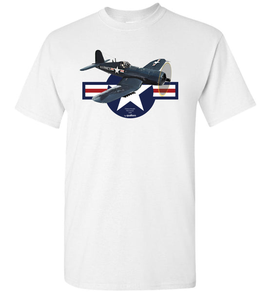 2. verdenskrig - F4U Corsair v.1 - Cotton T-Shirt