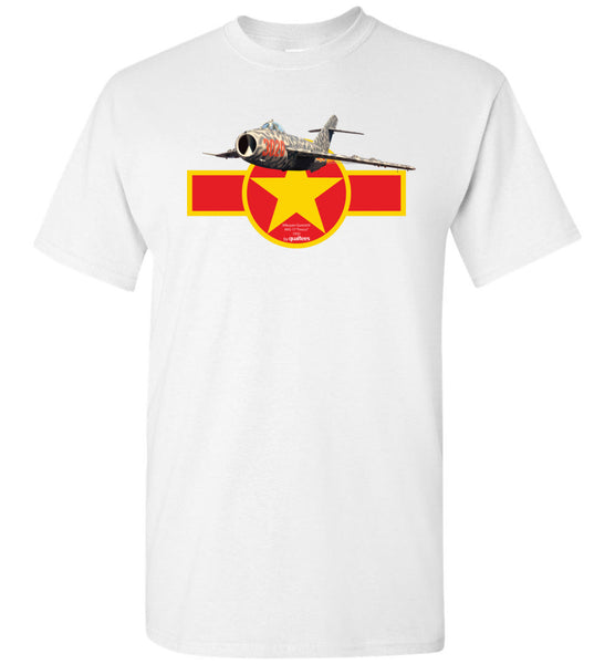 "Legendäre Jet Fighters - Mig-17 ""Fresco"" - Baumwoll-T-Shirt"