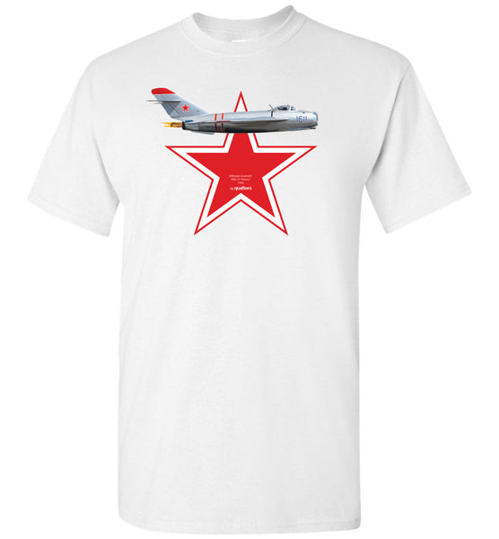 "Legendary Jet Fighters - Mig-17 ""Fresco"" v.2 - Tricou de bumbac"