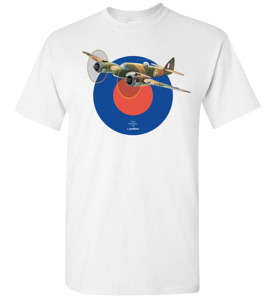 WWII - Bristol Beaufighter - Cotton T-Shirt