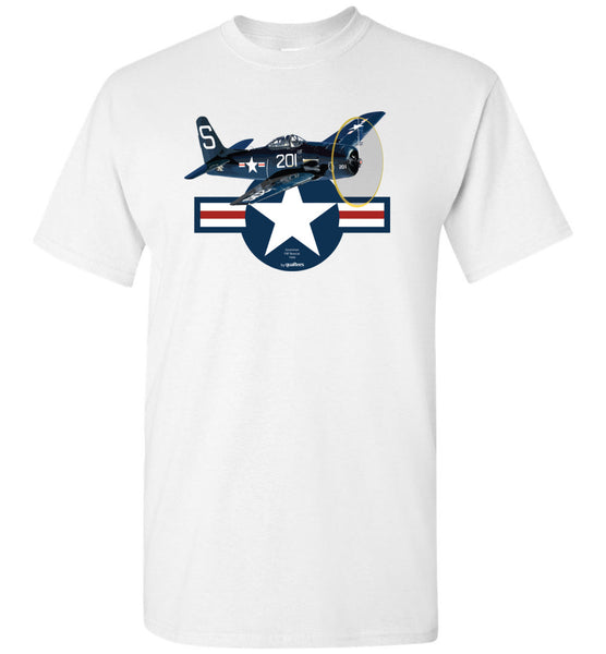 WWII - F8F Bearcat - Cotton T-Shirt