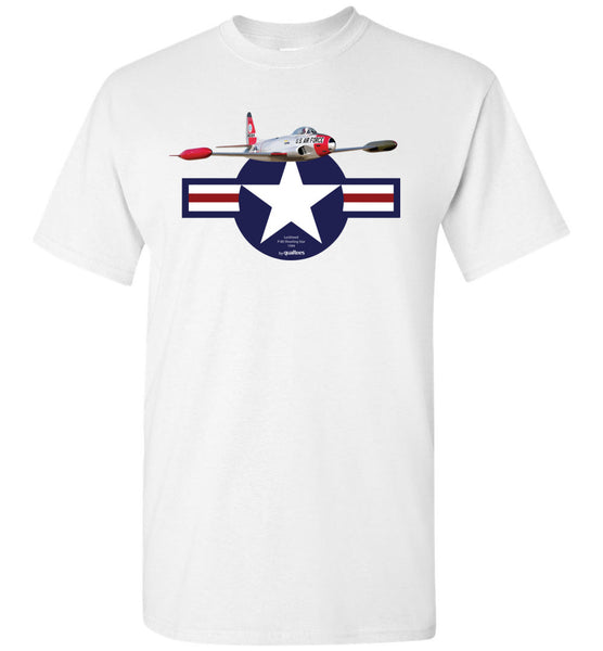 Lutadores de jato lendários - P-80 Shooting Star - Cotton T-Shirts