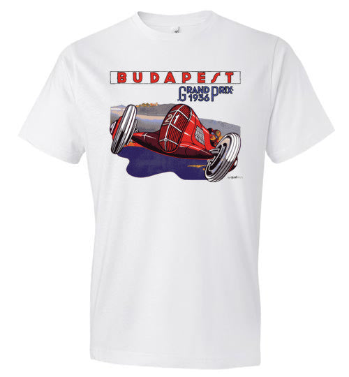 Budapest GP 1938 (edited) - Fashion Men Cotton T-Shirt