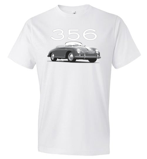 356 Speedster (B&W) - Fashion Men Cotton T-Shirt