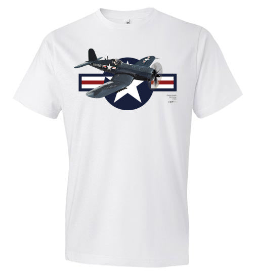 WWII - F4U Corsair - Fashion Men Cotton T-Shirt