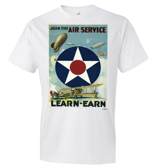 JOIN THE AIR SERVICE - Fashion Men Cotton T-Shirt