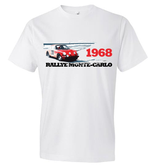 Rallye Monte-Carlo 1968 - Fashion Men Cotton T-Shirt