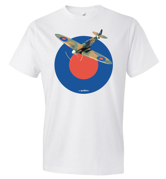 WWII - Supermarine Spitfire v.2 - Fashion Men Cotton T-Shirt
