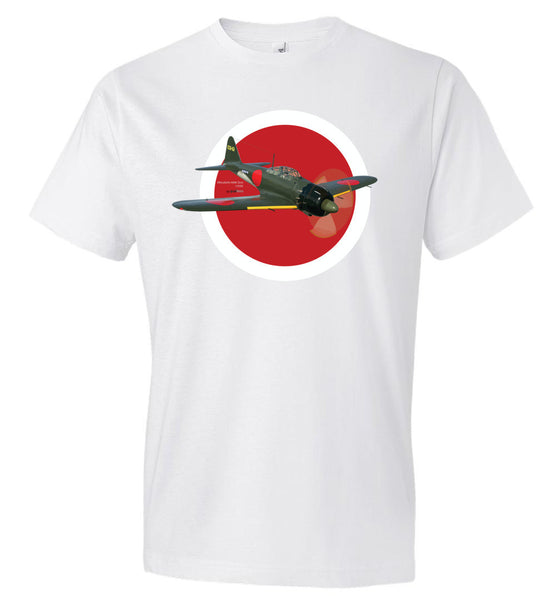 WWII - Mitsubishi A6M Zero - Fashion Men Cotton T-Shirt