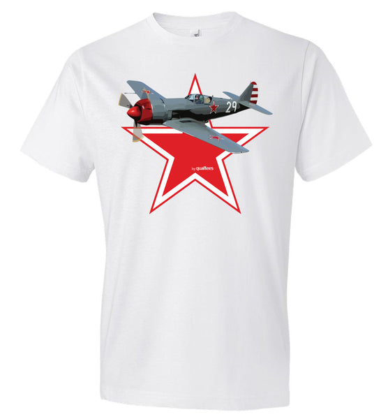 WWII - Lavoshkin La-9 - Fashion Men Cotton T-Shirt