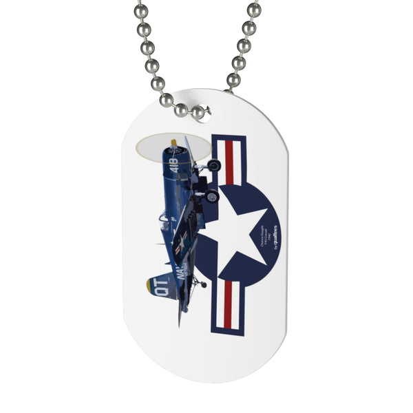 F4U Corsair Dog Tag